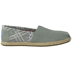 Toms blauwe espadrilles embroidered